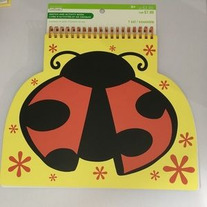 Sketch And Activity Book Lady Bug creatology